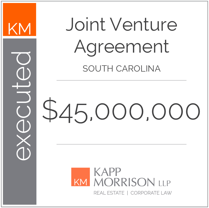 Kapp Morrison LLP Law Firm Boca Raton, Joint venture agreement, south carolina