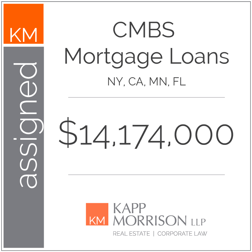 Kapp Morrison, assigned mortgage loans
