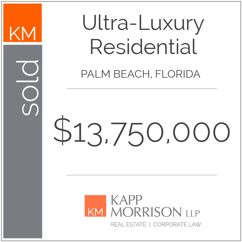 Kapp Morrison Real Estate and Corporate Law, Boca Raton, Law Firm, Kappmorrison